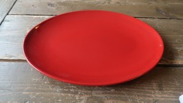 """Fun Factory Freestyle Red-Cherry Germany Oval 10.5"""" Serving Tray Platter - $31.68"""