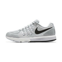MEN'S NIKE AIR ZOOM VOMERO 11 SHOES platinum black white 818099 002 MSRP - $84.97