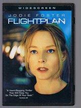 FLIGHTPLAN  JODIE FOSTER  DVD - $6.00