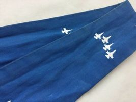 Blue AIR FORCE SQUADRON PILOT SCARF USAF 62nd FIGHTER SPIKE image 8