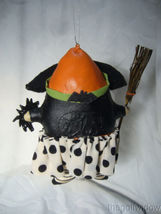 Bethany Lowe Startled Stella Witch Ornament by Robin Seeber Halloween image 3