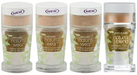 New WET N WILD Natural Blend Mineral Foundation (Sealed) - Choose Your S... - $6.99