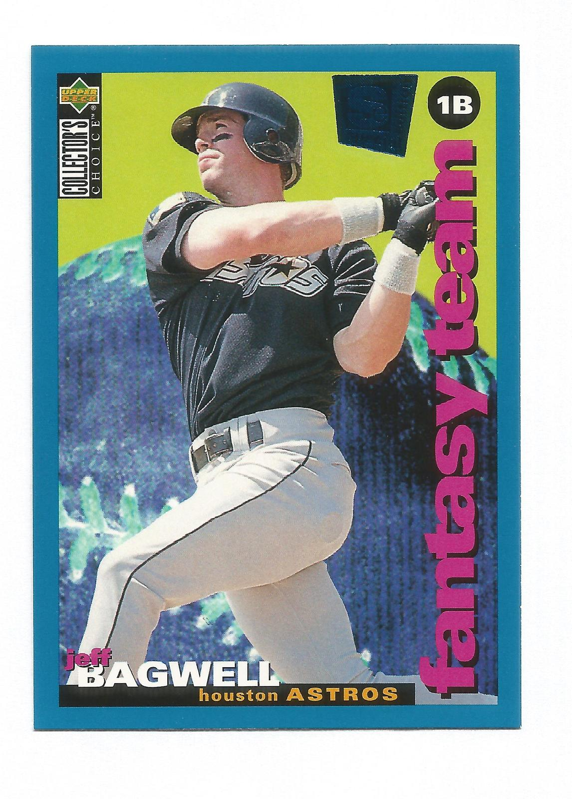 Jeff Bagwell 1994 Upper Deck Collectors Choice Card #254 Houston Astros Free S&H