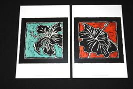 Chariklia Zarris Tropical Woodblock Print Size: 13'' x 19'' ART code: CZ... - $14.25