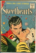 Sweethearts #37 1957-Charlton-spicy romance-10¢ cover price-G - $35.31
