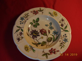 """8"""", Rimmed Soup Bowl, from Johnson Bros., in the Wakefield Pattern - $16.99"""