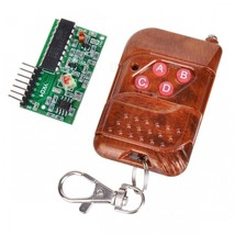 2262/2272 4-Way Wireless Remote Control M4 Not Lock Receiving Plate - $11.10