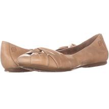Born 4685 Cross Ballet Flats 852, Light Brown, 7.5 US - $26.87