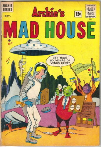 Archie's Madhouse Comic Book #29 Archie Comics 1963 VERY GOOD-