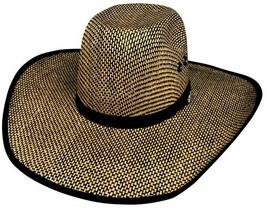 Bullhide PBR No Refund 50X Muskogee Straw Cowboy Hat Pro-Bull Crown Whea... - $68.00