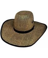 Bullhide PBR No Refund 50X Muskogee Straw Cowboy Hat Pro-Bull Crown Whea... - $67.00
