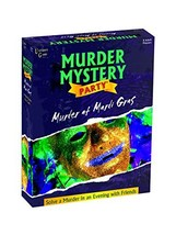 Murder Mystery Party Games - Murder at Mardi Gras (1 Pack) - $24.49