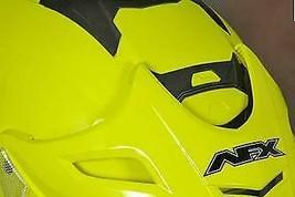 AFX Helmet Peak with Screws for FX-50 Red 0132-0659 - $19.95