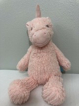 "Manhattan Toy Company Adorables Pink Unicorn Tara 16"" Plush Stuffed Animal - $14.85"