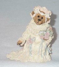 Boyd Bearstone Resin Bears 1998 Bailey As The Bride Figurine #227712GCC NEW - $9.46