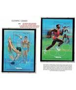 Palau 1992 Barcelona Sommer Olympiade x6 S/S MNH Gymnastik SPORTS - $3.85