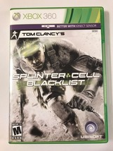 Splinter Cell Blacklist - Xbox 360 - Replacement Case - No Game - $7.91
