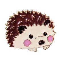 Animal Lapel Pin: Hedgehog (2) - $5.90