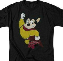 Mighty Mouse Superhero Retro 80s Cartoon Character TV series distressed CBS672 image 3