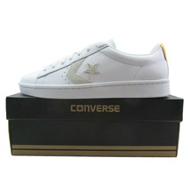 Converse Pro Leather PL 76 OX White Yellow Low Top 155322C Mens Multi Size - $54.99