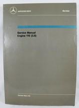Mercedes-Benz 1983 Service Manual Engine 116 (3.8) - $126.98