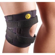 Corflex Knee-O-Trakker Hinged Patellar Tendonitis Brace-S-CoolTex - Black - $57.60