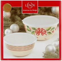 Lenox Home for The Holidays Bowls (Set of 2), Ivory - $24.34