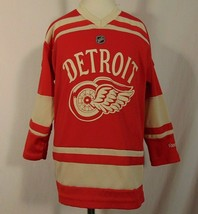 Detroit Red Wings NHL Jersey Youth 4-7 Reebok Red - $23.76