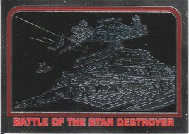 1999 Topps Star Wars Chrome Archives #38 Battle Of The Star Destroyer - $1.25