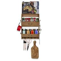 Wallniture 2 Sectional Entryway Décor Mail Holder Shelf Coat Rack with 12 Hooks  image 4