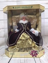 MATTEL BARBIE 1996 CHRISTMAS HAPPY HOLIDAYS - $23.48