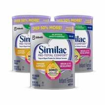 Similac Pro-Total Comfort Infant Formula, Non-GMO, Easy-to-Digest, Gentl... - $153.30