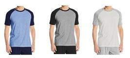 Men's Hanes Tee Shirt 2-Pack Short Sleeve X-Temp Crewneck Raglan T-Shirt NEW