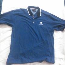 Vintage Men's tommy hilfiger golf blue polo xl (Heritage Hills) - $13.35