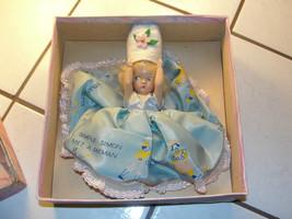 Virga Doll, Simple Simon Met A Pieman, in original box, moving arms, old - $68.49