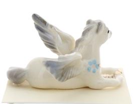 Hagen-Renaker Miniature Ceramic Pegasus Figurine Standing and Lying Set of 2 image 9