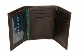 Tommy Hilfiger Men's Leather Credit Card Wallet Passcase Trifold 4311/02 image 8