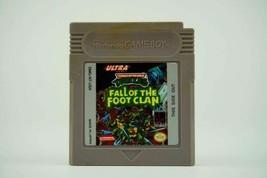 Teenage Mutant Ninja Turtles: Fall of the Foot Clan (Nintendo Game Boy, 1990) - $12.00