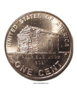 2009 P Lincoln Bicentennial Cent BU Log Cabin Early Childhood Penny - $1.14