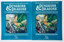 Dungeons & Dragons RPG - Dungeon Masters Companion -One & Two 1st Print TSR 1984 - $39.55