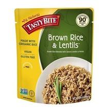 Tasty Bite All Natural Brown Rice & Lentils - $9.85