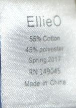 Ellie O Gingham Full Lined Longall Size 12 Months Color Blue image 4