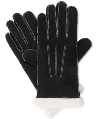 Primary image for Isotoner Signature Women's Moccasin Stitch Suede Gloves (M, Black)