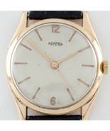 18k Rose Gold Men's Roamer Automatic Watch w/ Leather Band - $2,474.94