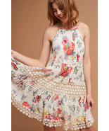 NWT ANTHROPOLOGIE KALILA FLORAL LACE DRESS by RANNA GILL M - €96,14 EUR