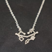 Sterling Silver She-Ra and the Princesses of Power Necklace Pendant - $52.00+