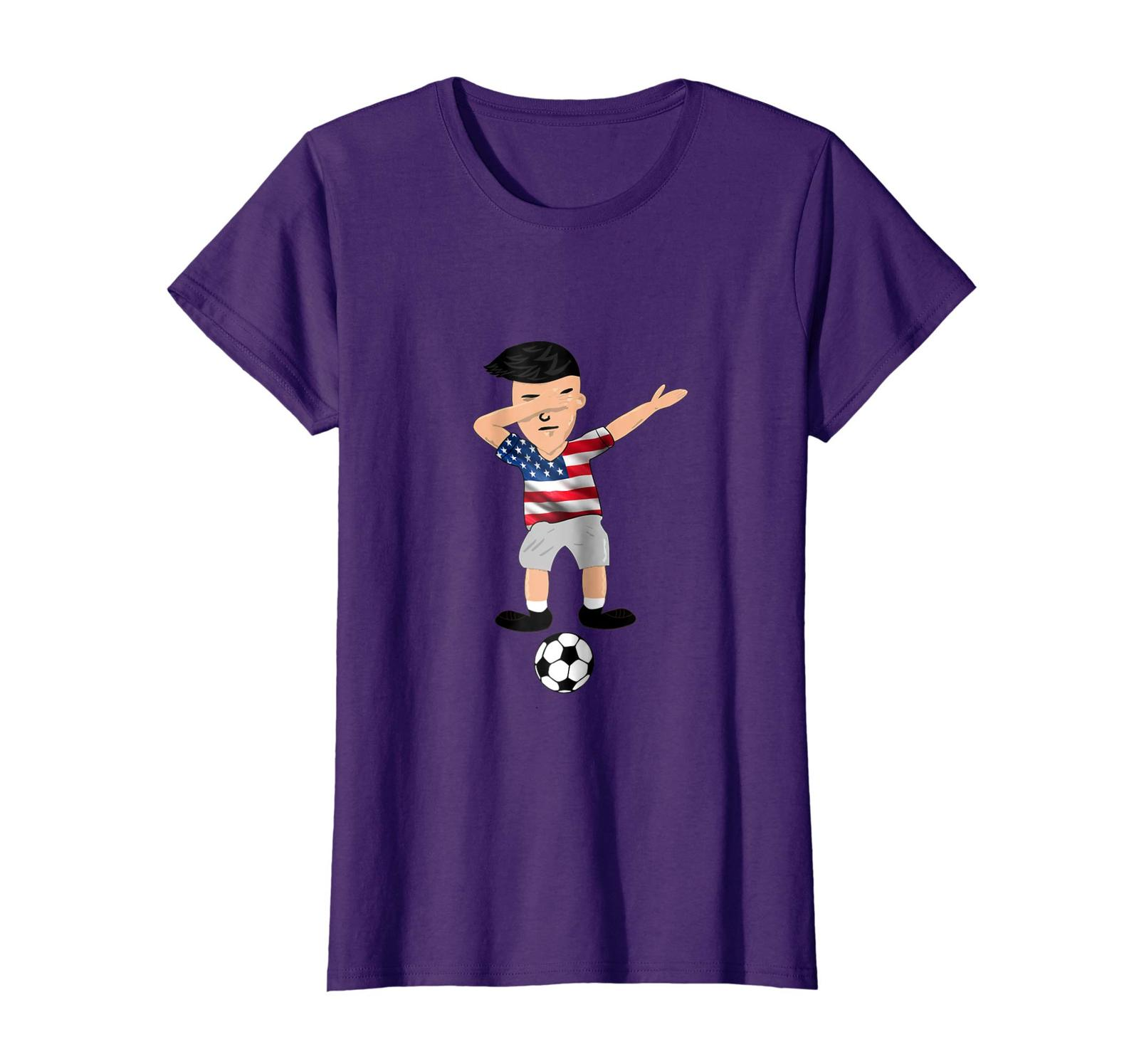 Brother Shirts - Funny Soccer Shirt Dabbing United States T Shirt Wowen
