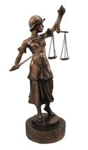 Lady Justice with Sword Figurine - $32.98