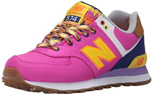 New Balance Women's WL574 Expedition Pack Running Shoe, Magenta, 6.5 B US