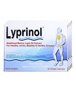 Lyprinol Pcso-524 200 Capsules New Zealand Green Lipped Mussel Extract Oil Joint - $149.99